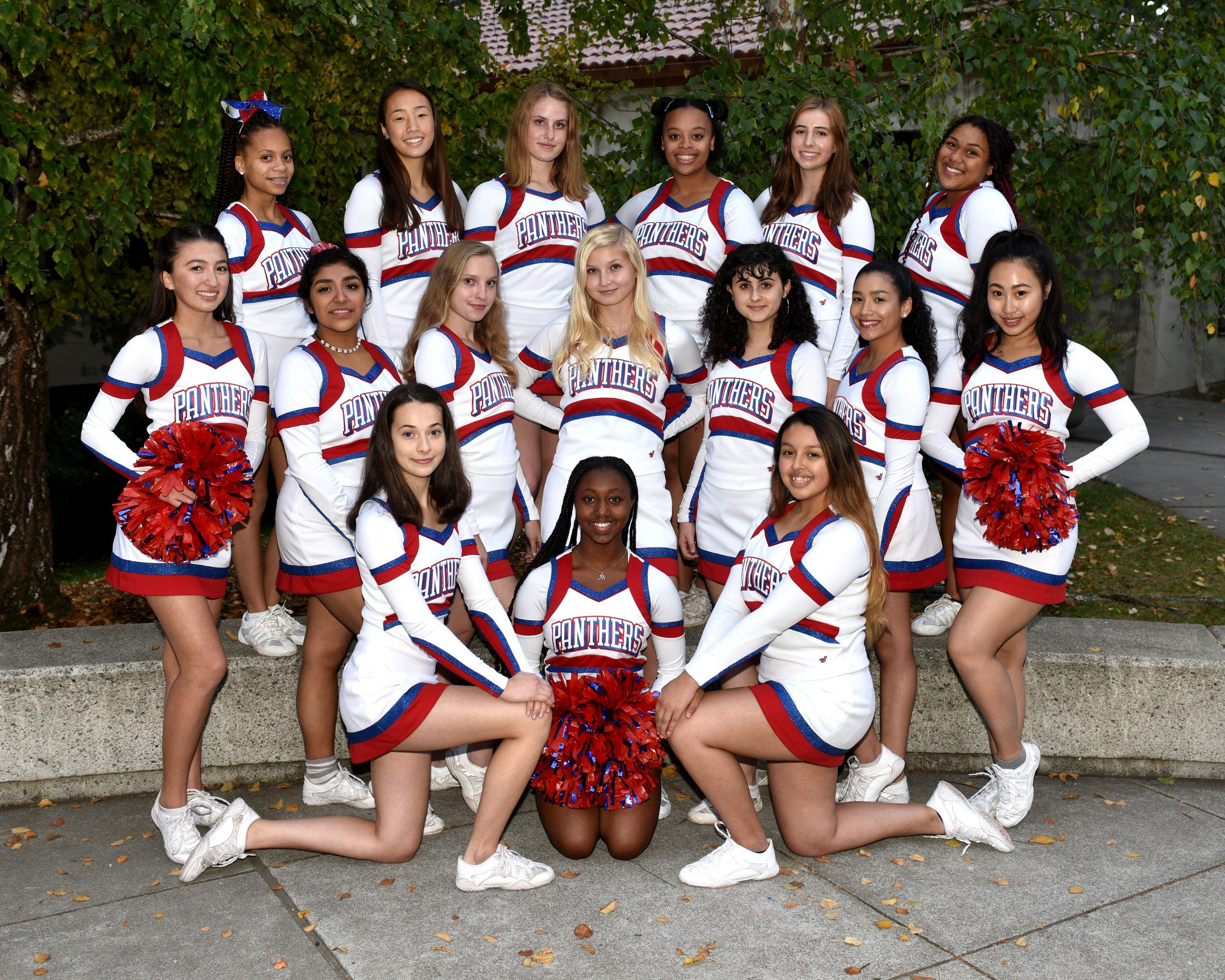 Cheerlading Team Photo